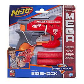Пістолет Нерф з великими стрілами - Bigshock, N-Strike Mega, Nerf, Hasbro SKL14-143452