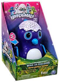 Інерційна ігор-ка Хетчималс зі звуком і світлом,Hatchimals,Wind-Up Eggliders,Draggles,Spin Master SKL14-143249
