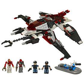 Інопланетний корабель - конструктор Крео Вторгнення інопланетян 277 деталей - Alien Strike, Hasbro SKL14-138297