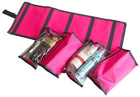 Косметичка-трансформер зі знімними відділеннями Organize рожевий K012 SKL34-176379