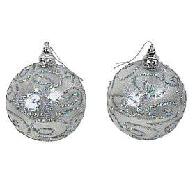 Набір новорічних куль з 2 штук SKL11-208811