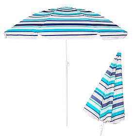 Пляжний парасольку з регульованою висотою Springos 160 см BU0006 SKL41-252487