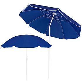 Пляжний парасольку з регульованою висотою та нахилом Springos 180 см BU0007 SKL41-252489