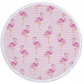 Пляжний килимок Tender Flamingo SKL32-152712