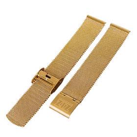 Ремінець для годинника Ziz з нержавіючої сталі золото SKL22-142800