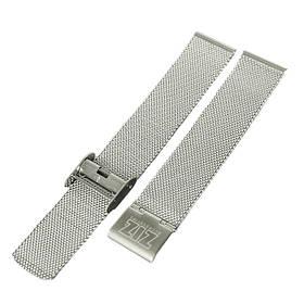 Ремінець для годинника Ziz з нержавіючої сталі срібло SKL22-142798