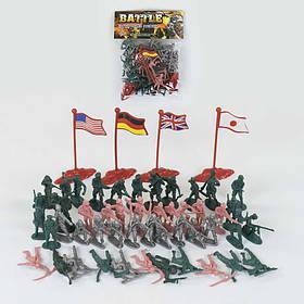 Набор солдатиков 56 элементов SKL11-185194