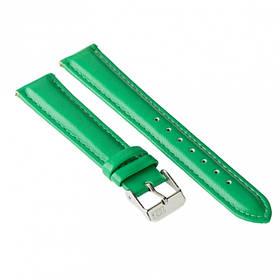Ремінець для годинника Ziz смарагдово-зелений, срібло SKL22-142899