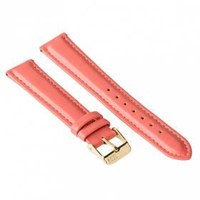 Ремінець для годинника Ziz полунично-кораловий, золото SKL22-142910