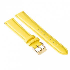 Ремінець для годинника Ziz лимонно-жовтий, золото SKL22-142903