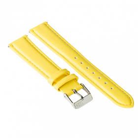 Ремінець для годинника Ziz лимонно-жовтий, срібло SKL22-142902