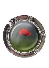 Сумкодержатель DM 01 Червоний мак зелений SKL47-176889
