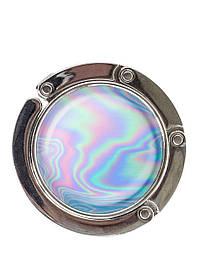 Сумкодержатель DM 01 Голографія блакитний SKL47-176869