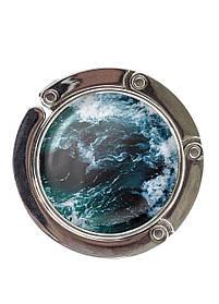 Сумкодержатель DM 01 Морські хвилі синій SKL47-176892