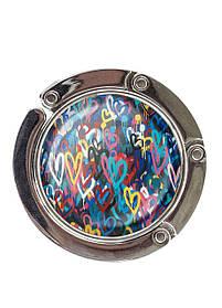 Сумкодержатель DM 01 Різнокольорові Серця різнобарвний SKL47-176891