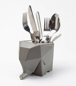 Сушилка для посуды и столовых приборов Слон Gray SKL32-152687