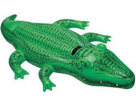 Надувна іграшка-наїзник 168х86см крокодил від 3 років SKL11-250553