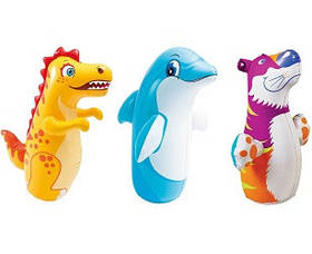 Надувная игрушка-неваляшка, 3 вида, от 3 лет, цена за 1 шт SKL11-249644