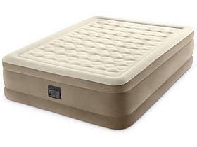Надувне ліжко Ultra Plush Bed 152х203х46 см, вбудований насос 220V SKL11-250343