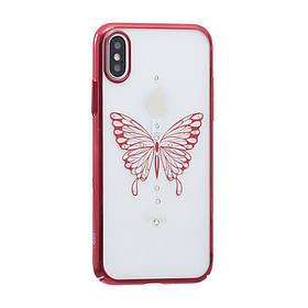 Чохол силікон Simple Beauty Butterfly Series for Apple Iphone X SKL11-234745