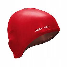 Шапочка для плавання SportVida SV-DN0015 Red SKL41-227786