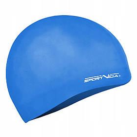 Шапочка для плавання SportVida SV-DN0018 Blue SKL41-227792