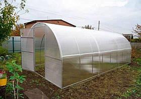 Теплиця Садівник Агро 300х400х200 см з стільниковим полікарбонатом 4 мм SKL54-240869