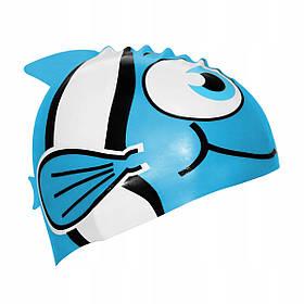 Шапочка для плавання дитяча SportVida SV-DN0016JR Blue SKL41-227799