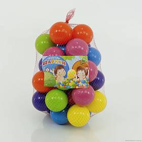 Кульки M-Toys 70 мм, м'які, 50 шт SKL11-181984