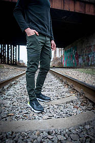 Теплі штани карго хакі Conqueror SKL59-259571