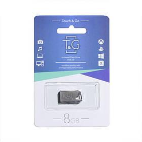 Накопитель Usb Flash Drive T and G 8gb Metal 109 SKL11-232576