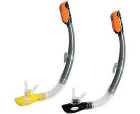 Трубка для сноркелинга HYPER-FLOW SR, 2 кольори, від 8 років, ціна за 1 шт SKL11-250476