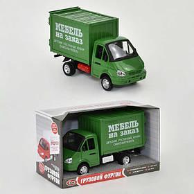 Машинки з інерцією Газель Меблі на замовлення, зі звуком і світлом, на батарейці SKL11-218645