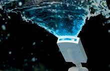 Світлодіодний фонтан, 4 кольори - білий, червоний, блакитний і зелений SKL11-249535