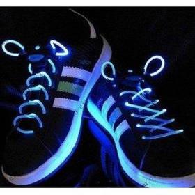 Светящиеся шнурки KS Disco Blue SKL25-150694