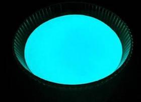 Світиться порошок блакитний в темряві і фіолетовий на світлі Люмінофор Просто і Легко 20г SKL12-241325