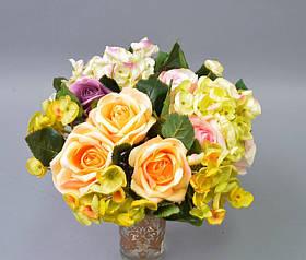 Цветочная композиция Роза-гортензия SKL11-209180