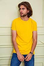 Футболка мужская 119R300 цвет Желтый