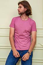 Футболка мужская 119R300 цвет Темно-розовый