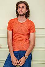 Футболка мужская 116R102 цвет Оранжевый