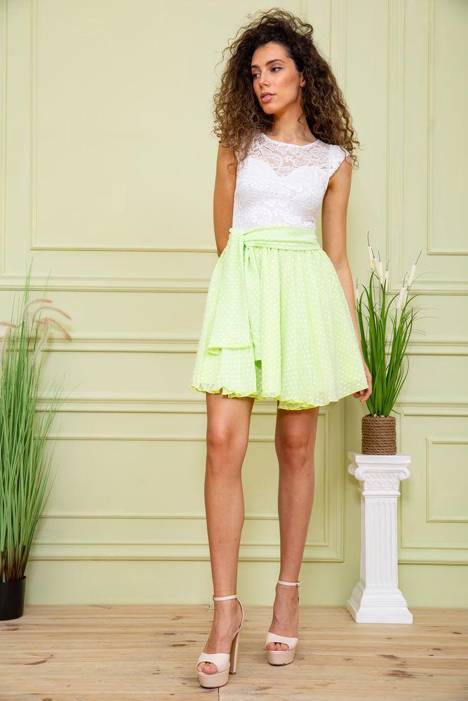 Платье 167R885 цвет Салатовый