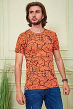 Футболка мужская 116R101 цвет Оранжевый