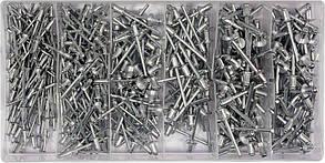 Витяжні Заклепки Алюмінієві Набір(Комплект)400шт YATO YT-36420