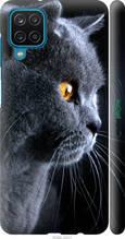 "Чехол на Samsung Galaxy A12 A125F Красивый кот ""3038c-2201-2448"""