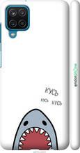 "Чехол на Samsung Galaxy A12 A125F Акула ""4870c-2201-2448"""