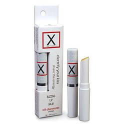 Стимулирующий бальзам для губ унисекс Sensuva - X on the Lips Original с феромонами