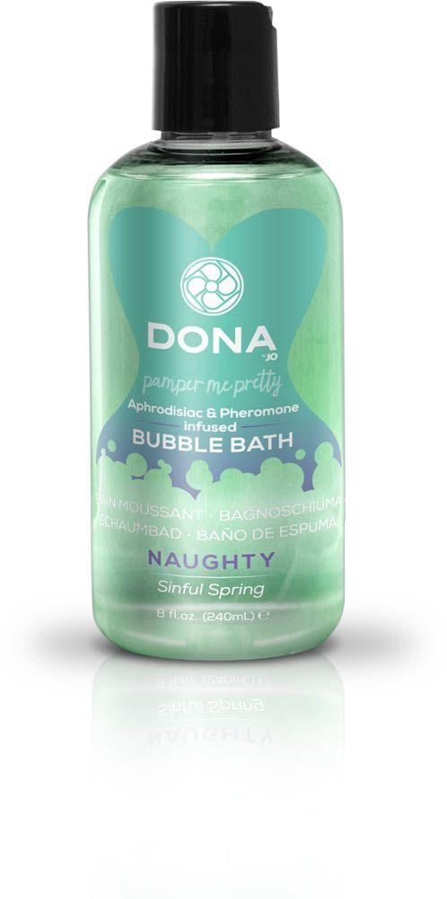 Піна для ванни Dona - Bubble Bath - Naughty Sinful Spring з афродизіаками і феромонами