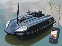 Кораблик для рыбалки Carp Cruiser Boat -XL-F7С с цветным эхолотом Lucky FF718-LiC-W