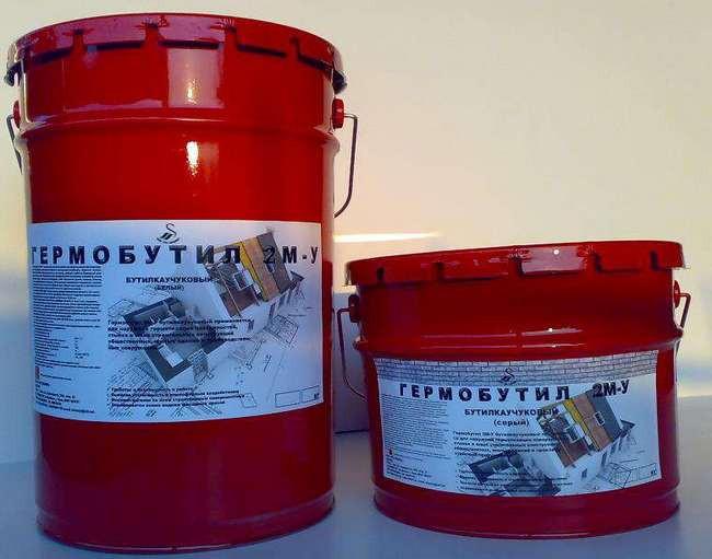 Гермобутил-с» бутилкаучуковая герметизирующая мастика пенополиуретановый декор монтаж