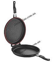 Двухсторонняя сковорода-гриль O.M.S. Collection 3219 black